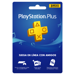 PlayStation Plus 3 Meses,...