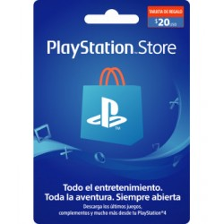 PlayStation Store US$20...