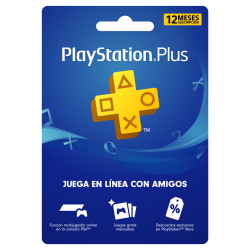 PlayStation Plus 1 año, PSN...