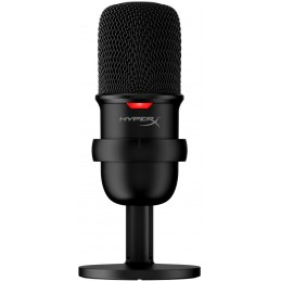HyperX SoloCast, micrófono...